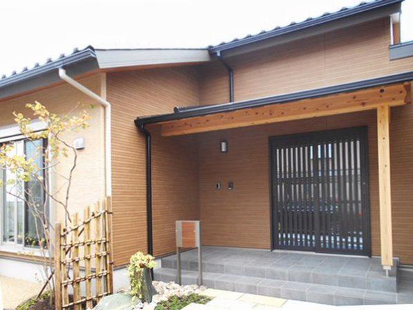 【浜松市南区】和風の外観とモダンな内装の平屋新築住宅 ...